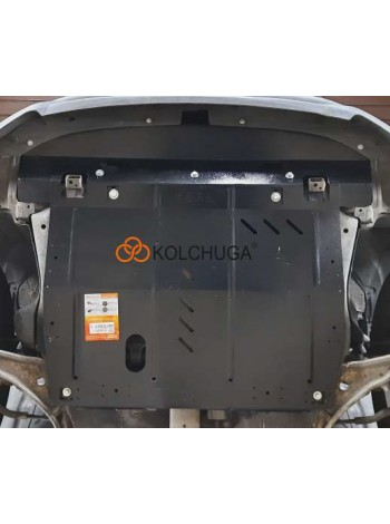 Защита двигателя, КПП, радиатора для авто Nissan Murano II Z51 2008-2014 V-2,5 ( АКПП ) ( TM Kolchuga ) ZiPoFlex