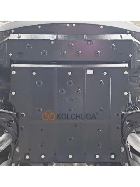 Защита двигателя, КПП, радиатора для авто Jac JS 2 2021- V-1,5і (111 л.с.) ( TM Kolchuga ) ZiPoFlex