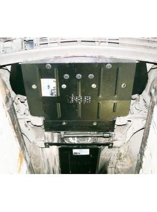 Защита двигателя, радиатора для авто Mercedes-Benz W 124 1984-1996 до V-3.2 включительно ( защита АКПП (1.9040), МКПП (1.9271)) ( TM Kolchuga ) Стандарт