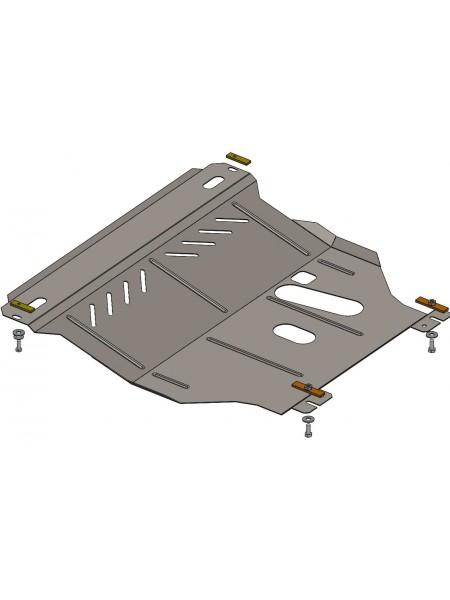 Защита двигателя, КПП, радиатора для авто ЗАЗ Chance 2009- V-1,3; 1,5; (МКПП) ( TM Kolchuga ) ZiPoFlex