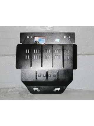 Защита двигателя, КПП, радиатора для авто Renault Kangoo 1997-2007 только V-1,2 ( TM Kolchuga ) Стандарт