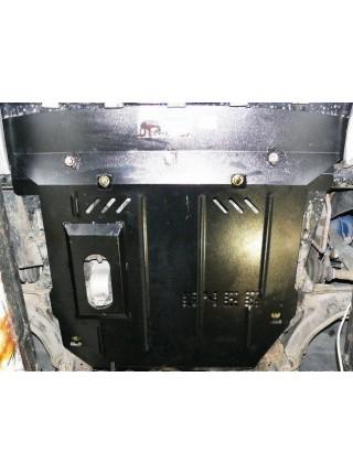 Защита двигателя, КПП, радиатора для авто Mercedes-Benz Vito D (W 638) 1996-2003 V-2.0; 2.3; (кроме 2,2 СDI) ( TM Kolchuga ) Стандарт