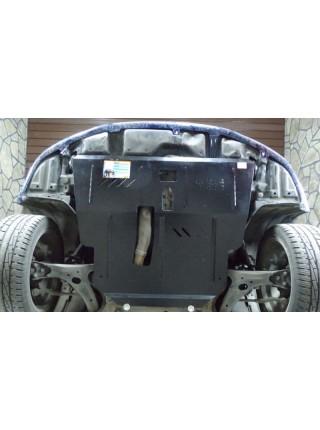 Защита двигателя, КПП, радиатора для авто Toyota Avensis II 2003-2009 V-все ( TM Kolchuga ) Стандарт