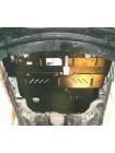 Защита двигателя, КПП, радиатора для авто Mitsubishi Lancer IX 2003-2007 V-1,5; 2,0; ( TM Kolchuga ) Стандарт