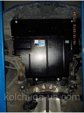 Защита двигателя, КПП, радиатора для авто Mazda 3 2003-2009 V-1,4; 1.6; 2.0; ( TM Kolchuga ) ZiPoFlex