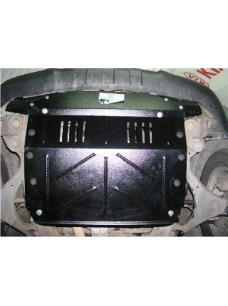 Защита двигателя, КПП, радиатора для авто Hyundai Tucson 2004- V-все ZiPoFlex® ( TM Kolchuga ) ZiPoFlex