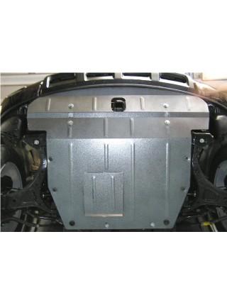 Защита двигателя, КПП, радиатора для авто Hyundai Veracruz IX55 2007-2012 V-3,0;3,8; (АКПП, МКПП, ZiPoFlex®) ( TM Kolchuga ) ZiPoFlex