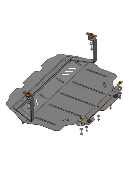 Защита двигателя, КПП, радиатора для авто Volkswagen Golf Plus 2005-2014 V-все ( TM Kolchuga ) ZiPoFlex