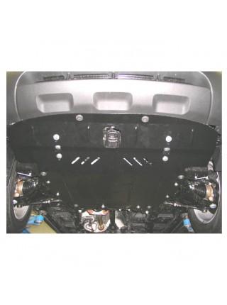 Защита двигателя, КПП, радиатора для авто Kia Sorento II 2009-2012 V-2,4; 2,2D; (ZiPoFlex®) ( TM Kolchuga ) ZiPoFlex