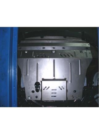Защита двигателя, КПП, радиатора для авто Hyundai IX35 2010- V-все Дизель АКПП МКПП ZiPoFlex® ( TM Kolchuga ) ZiPoFlex