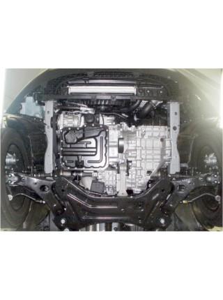 Защита двигателя, КПП, радиатора для авто Kia Sportage III 2010-2015 1,7 D; 2,0 D; (АКПП, МКПП, ZiPoFlex®, только диз. сборка Словакия) ( TM Kolchuga ) ZiPoFlex
