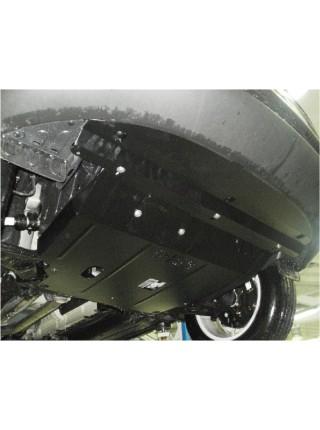 Защита двигателя, КПП, радиатора для авто Kia Sorento II 2012-2015V-2,2D; 2,4; (ZiPoFlex®, кроме авто Корейской сборки) ( TM Kolchuga ) ZiPoFlex