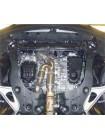 Защита двигателя, КПП, радиатора для авто Infiniti JX 35 2013- V-3,5 АКПП ( TM Kolchuga ) ZiPoFlex