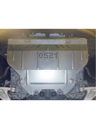 Защита двигателя, КПП, радиатора для авто Infiniti QX 70 2013- V-3,7 3,0D АКПП ( TM Kolchuga ) ZiPoFlex