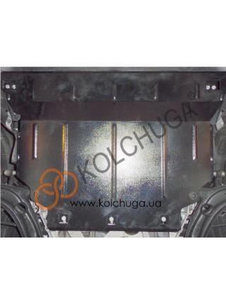 Защита двигателя, КПП, радиатора для авто Volkswagen Passat B8 2014- V-1,4i 1,8 2,0TDI сборка все кроме 2,0 TDI 240 л.с. 4х4 кроме USA ( TM Kolchuga ) ZiPoFlex