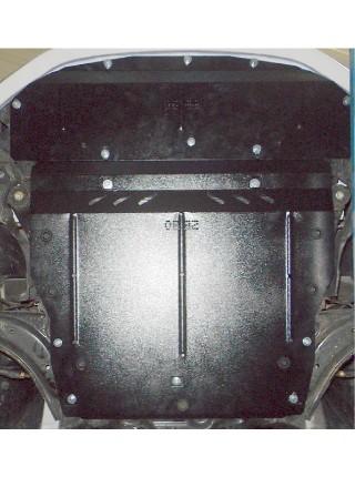 Защита двигателя, КПП, радиатора для авто Nissan Leaf 2010- V-все (электромобиль) ( TM Kolchuga ) ZiPoFlex