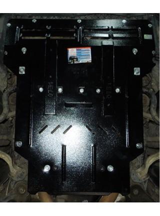 Защита двигателя, КПП, радиатора для авто Volkswagen Phaeton 2002-2016 V-6,0i W12 (АКПП) ( TM Kolchuga ) ZiPoFlex