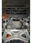 Защита двигателя, радиатора для авто Maserati Quattroporte Q4 VI (M156) 2013- V-3,0i (АКПП) ( TM Kolchuga ) ZiPoFlex
