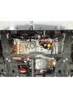 Защита електродвигателя, КПП для авто Fiat 500 E 2013- V-111л.с. (83кВт), (сборка USA, АКПП) ( TM Kolchuga ) ZiPoFlex