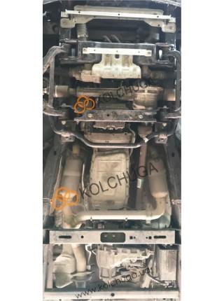 Защита двигателя, КПП, РКПП, радиатора для авто Ford F-150 EcoBoost 2014-2017 V-2.7i (АКПП, 3мм сталь) ( TM Kolchuga ) ZiPoFlex