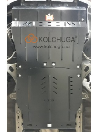 Защита двигателя, КПП Subaru Outback IV 2009-2012 V-2,5i (без турбины) (вариатор USA) ( TM Kolchuga ) ZiPoFlex