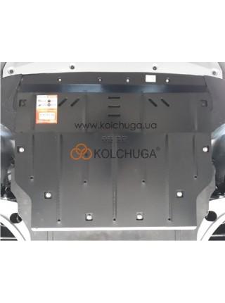 Защита двигателя, КПП Range Rover Evoque 2019- V-2.0Td4, 150 -180л.с (AКПП) ( TM Kolchuga ) ZiPoFlex