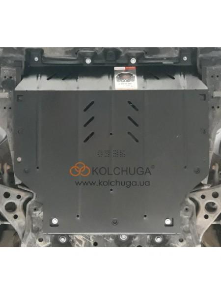 Защита двигателя и КПП Toyota C-HR 2016- V-1,8i HYBRID (АКПП) ( TM Kolchuga ) ZiPoFlex