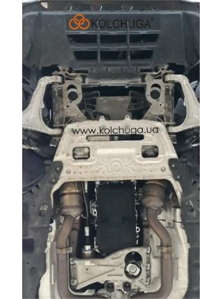 Защита двигателя, КПП, радиатор Maserati Levante 2018- V-3,0 i (АКПП, с электроусилителем) ( TM Kolchuga ) ZiPoFlex