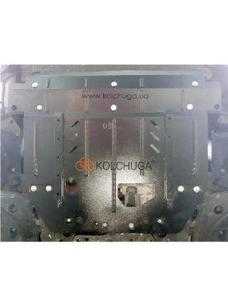 Защита двигателя, КПП, радиатор Ford Tourneo Custom (пасажир) 2018- V-2.0TDCi ecoblue euro6 до 20.05.19 (АКПП, VIN: WFO3XXTTG3KD19971) ( TM Kolchuga ) ZiPoFlex