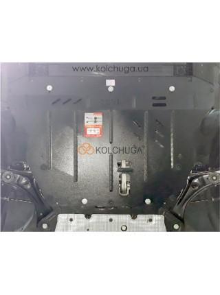 Защита двигателя, КПП, Ford Focus IV 2019- V-1,5і; 1,5TDI; (МКПП) ( TM Kolchuga ) ZiPoFlex