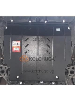 Защита двигателя, КПП Toyota Corolla E21 седан 2019- V-1.6; 1,8і; (HYBRID) ( TM Kolchuga ) ZiPoFlex