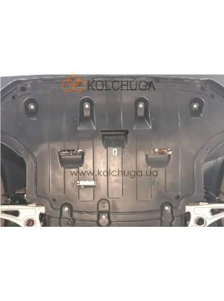 Защита двигателя, КПП Hyundai Kona electric 2018- V-все ( TM Kolchuga ) ZiPoFlex