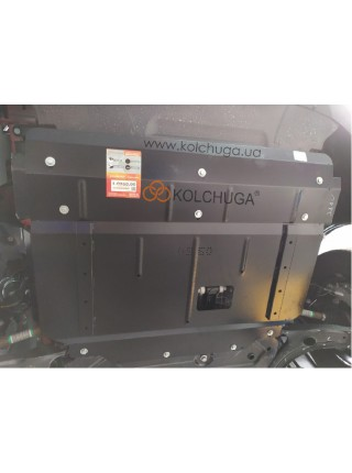 Защита двигателя, КПП, радиатор Ford Tourneo Custom (пассажир) 2019- 2.0TDCi ecoblue euro 6,2, 20.05.19 г. (МКПП, VIN: WFO3XXTTG3KD19971) ( TM Kolchuga ) ZiPoFlex