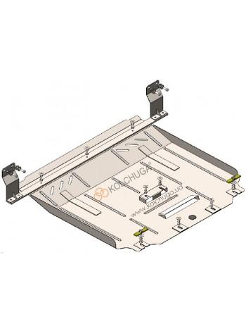 Защита двигателя, КПП, радиатор Ford Transit V363 MCA 2019- 2.0TDCi ecoblue euro 6,2, 20.05.19 г. (V363 MCA, МКПП, задний привод) ( TM Kolchuga ) ZiPoFlex