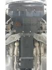 Защита двигателя, КПП, радиатора, раздатки для авто Infiniti Q 50 2013- V-3,0i (АКПП, 4x4) ( TM Kolchuga ) ZiPoFlex